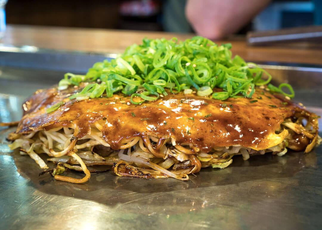 Osaka cheap eats - Okonomiyaki