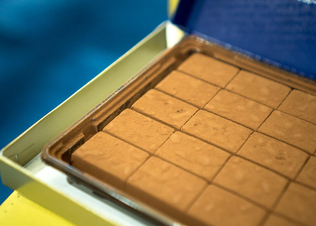 Osaka cheap eats - Nama chocolate