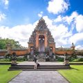 blue bird taxi bali - bali temple