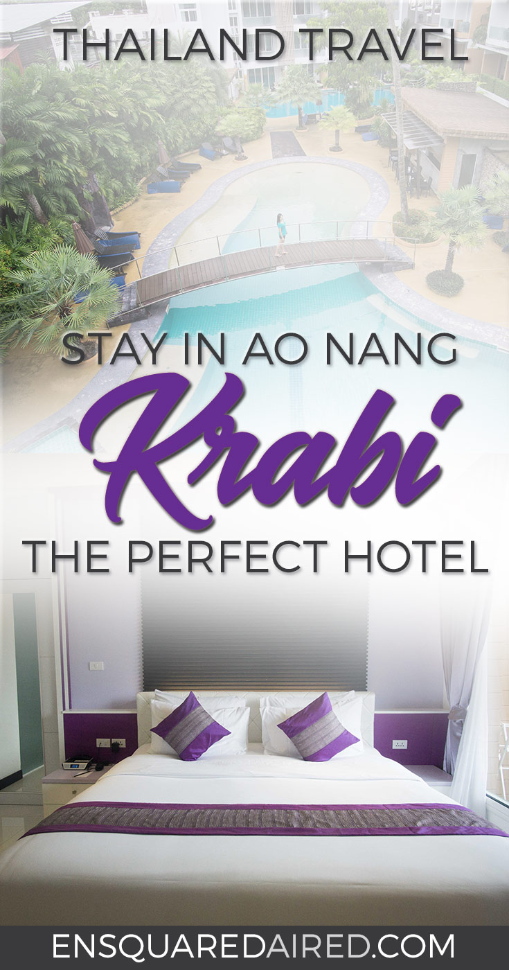 The L Resort Krabi, A Great Stay In Ao Nang | Read about our stay and everything you need to know about the sleek and modern The L Resort Krabi in Ao Nang. Located right in front of the beach, this resort is at the doorstep of all the great things Ao Nang has to offer