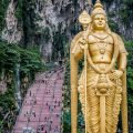 Climbing Batu Caves Steps to See the Famous Temple Cave | Kuala Lumpur has been on my bucket list for over a decade. The street food is incredible, along with the twin towers and the Batu caves. Click to read more and see the photography about the Batu Caves