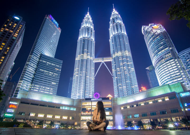 petronas towers visit while staying at hotel aloft kl sentral