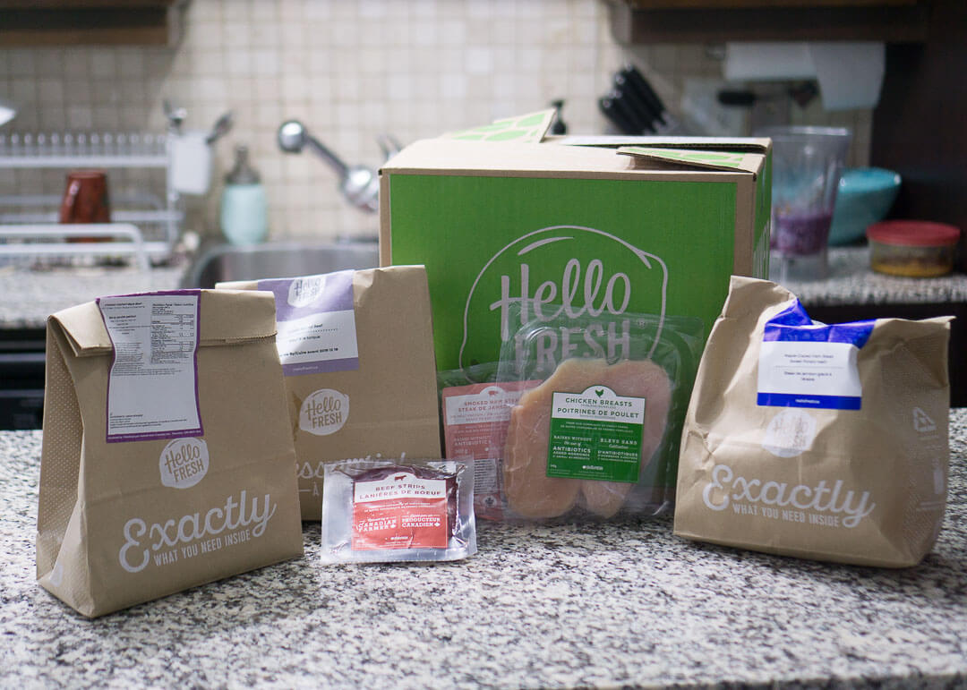 Hellofresh Canada Review - food delivery