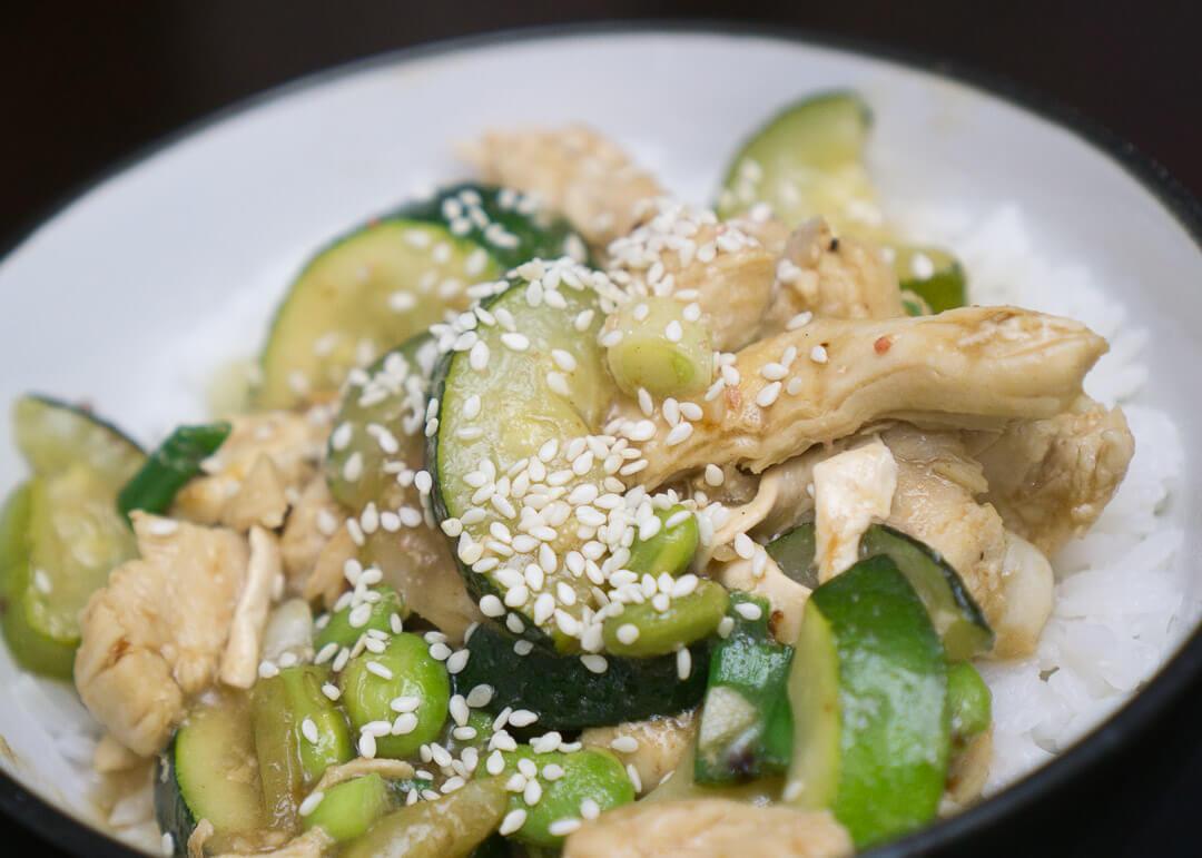 Hellofresh Canada Review - chicken yakitori-style bowl