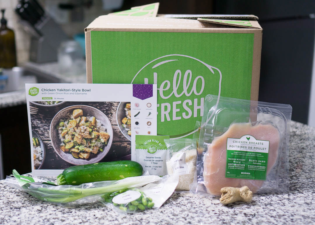 Hellofresh Canada Review - meal kit