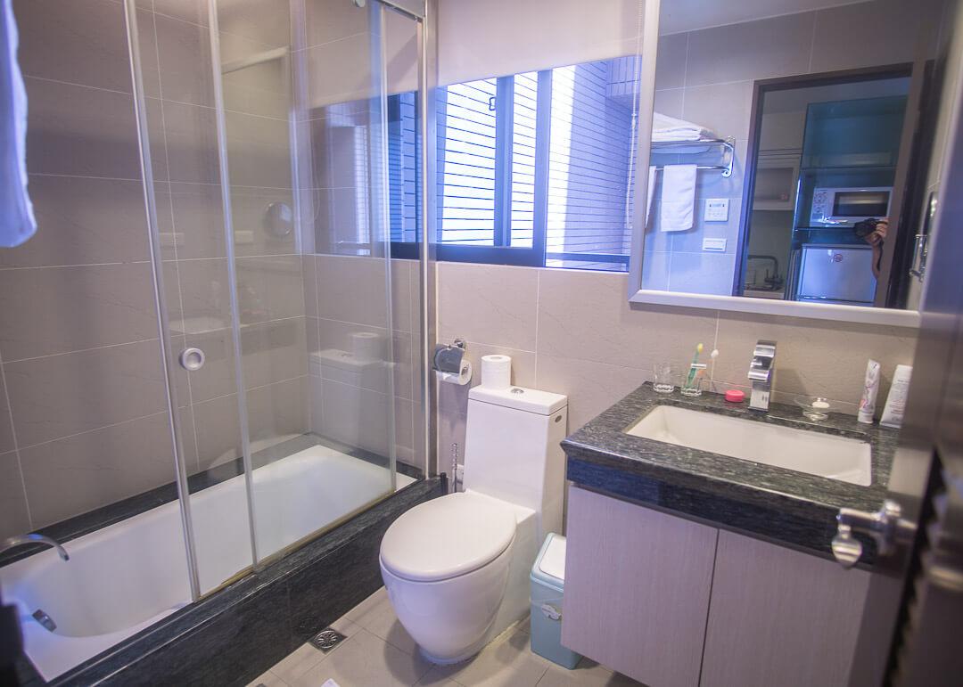 Kee Tai Service Apartment Taipei - bathroom