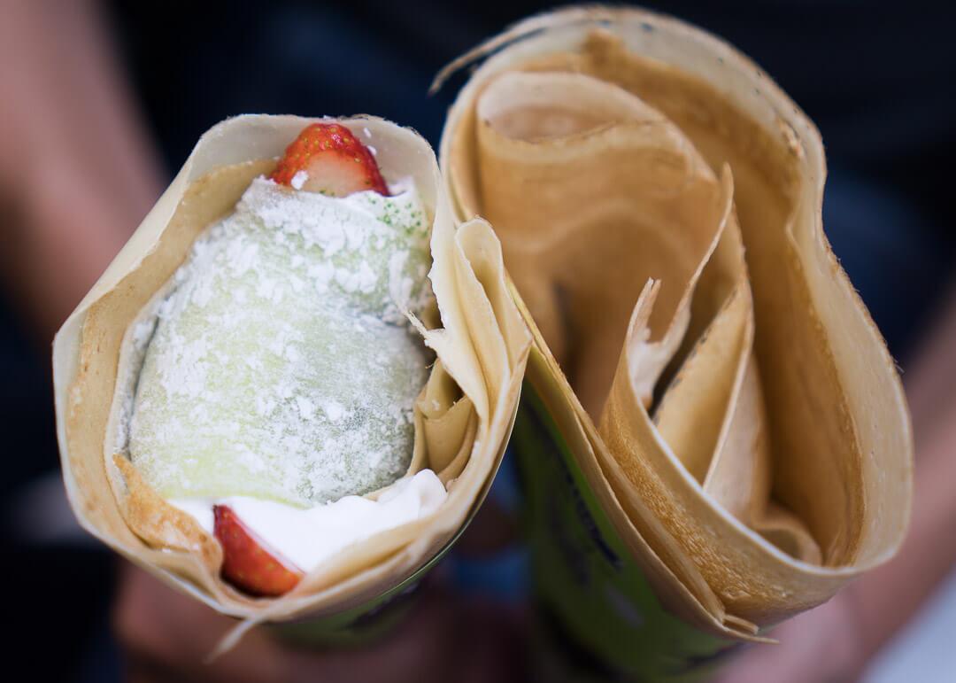 kyoto cheap eats - crepes