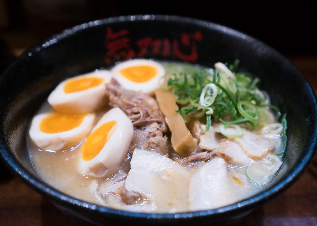 kyoto cheap eats - Musoshin ramen