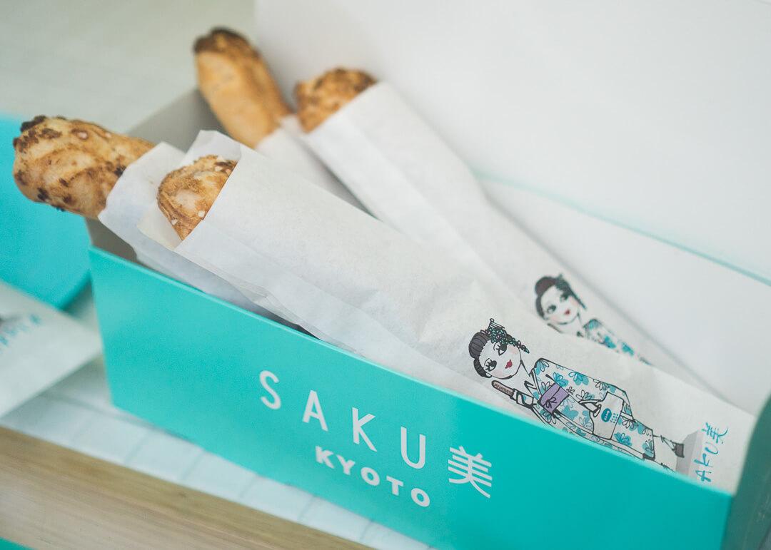 kyoto cheap eats - japanese bakery bread