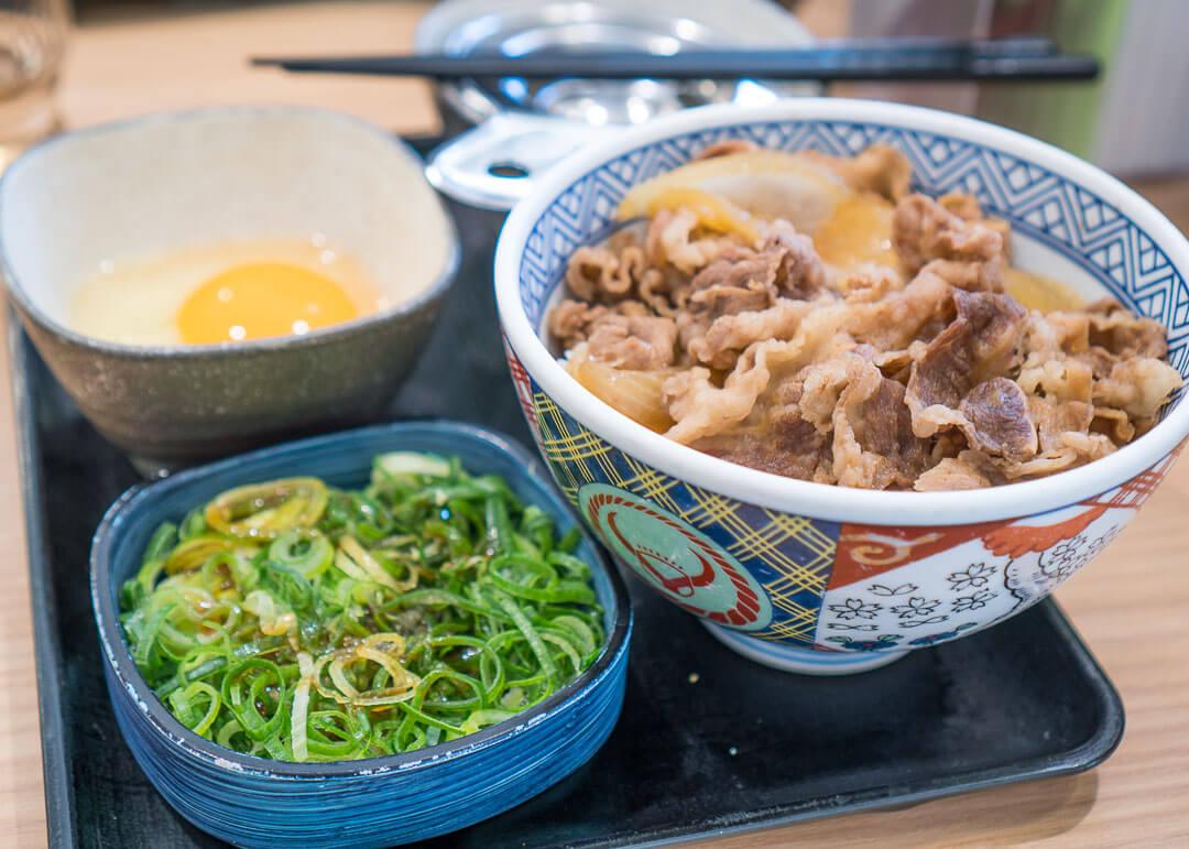 kyoto cheap eats - rice dish
