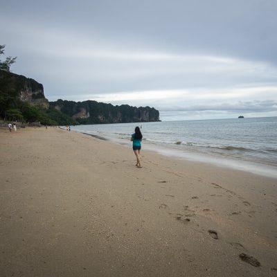 Rainy Days At The Beautiful Ao Nang Beach