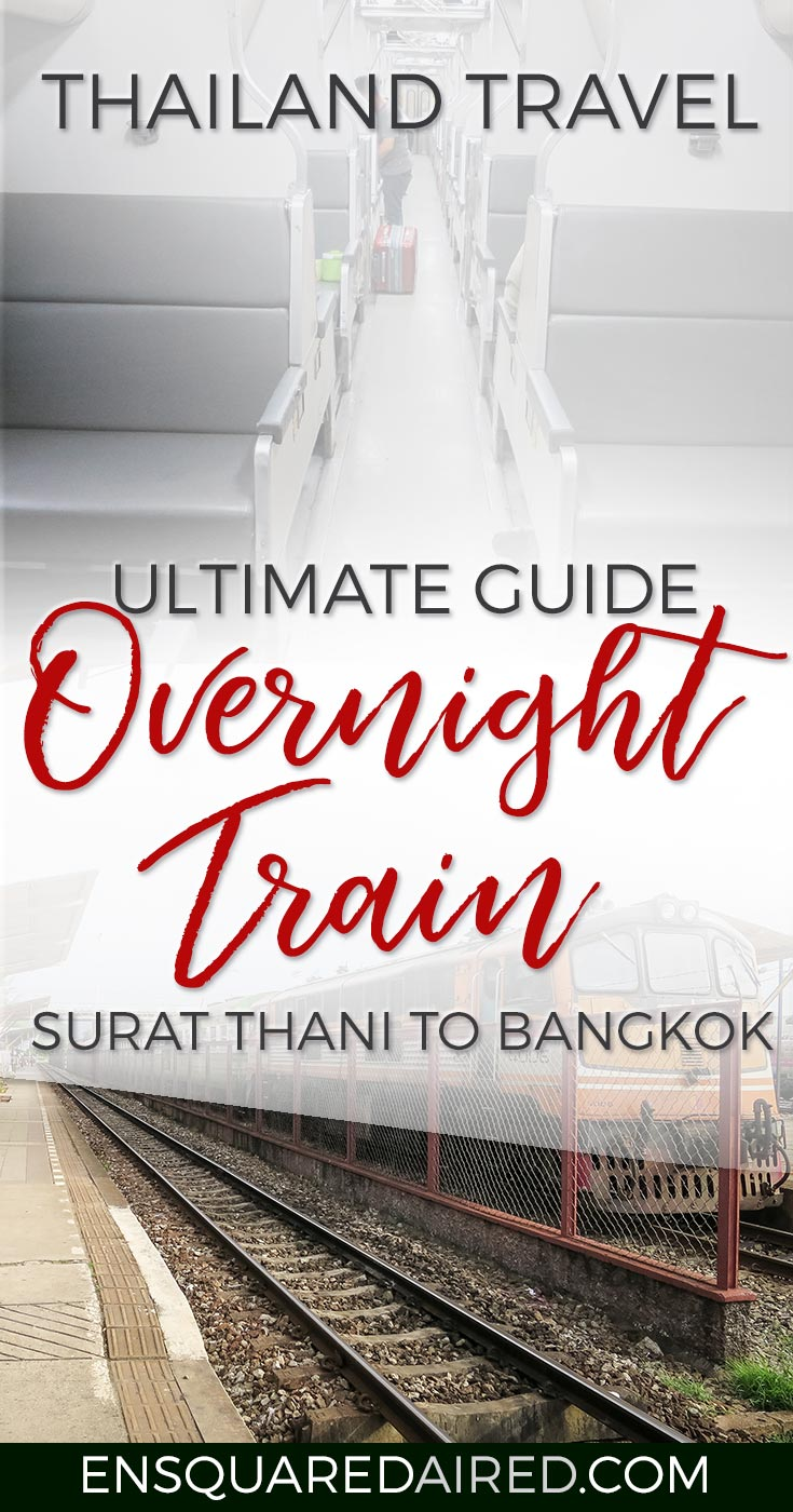 How To Get From Surat Thani To Bangkok train pinterest