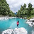 living on the road - hokitika gorge