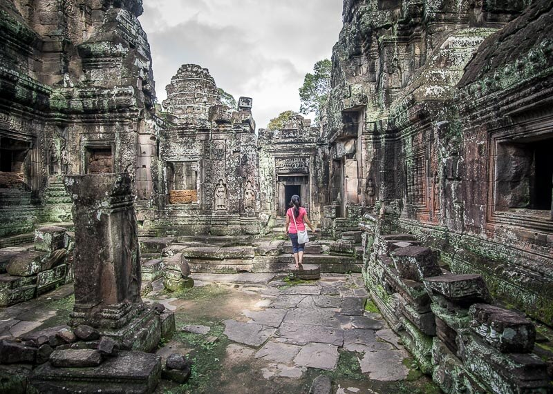 Siem Reap Travel Blog - temple in cambodia
