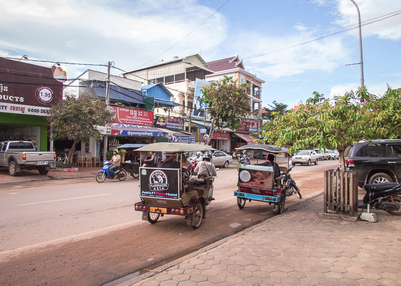 Siem Reap Travel Blog - tuk tuk rides