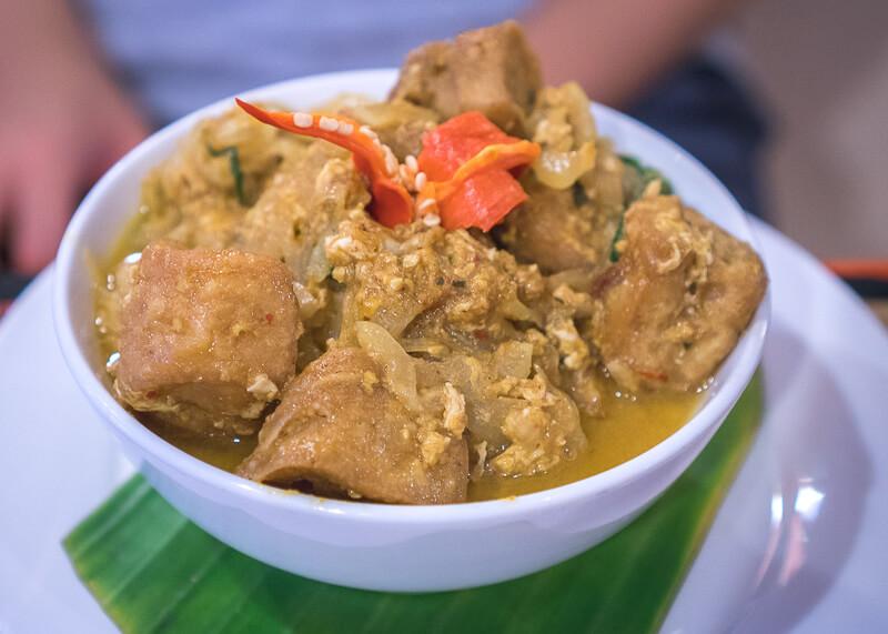 Siem Reap Travel Blog - amok curry dish at Lilypop