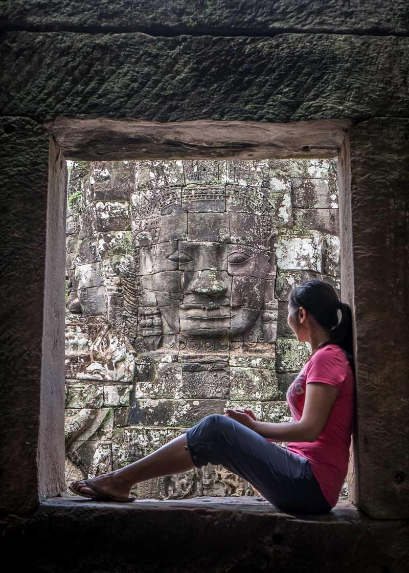 one life changing year dream bayon temple angkor wat