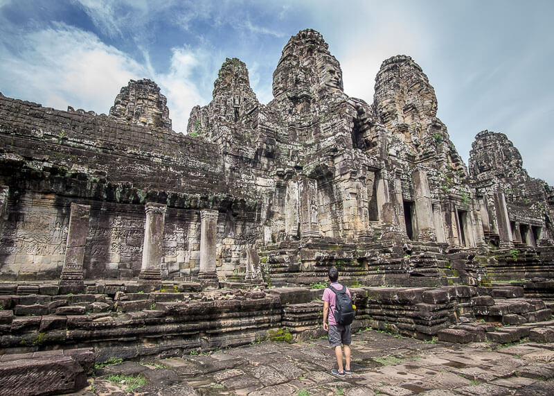 Siem Reap Travel Blog - Bayon in Angkor Thom
