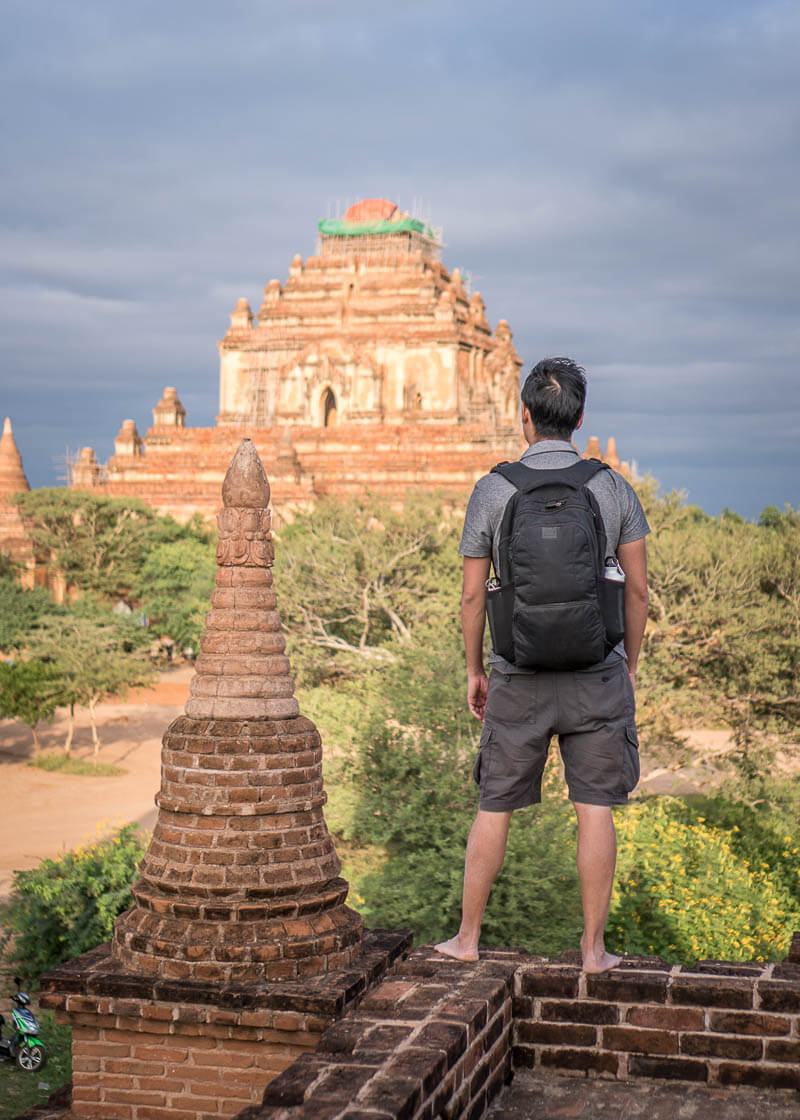 Bagan trip blog - Sulamani temple secret view