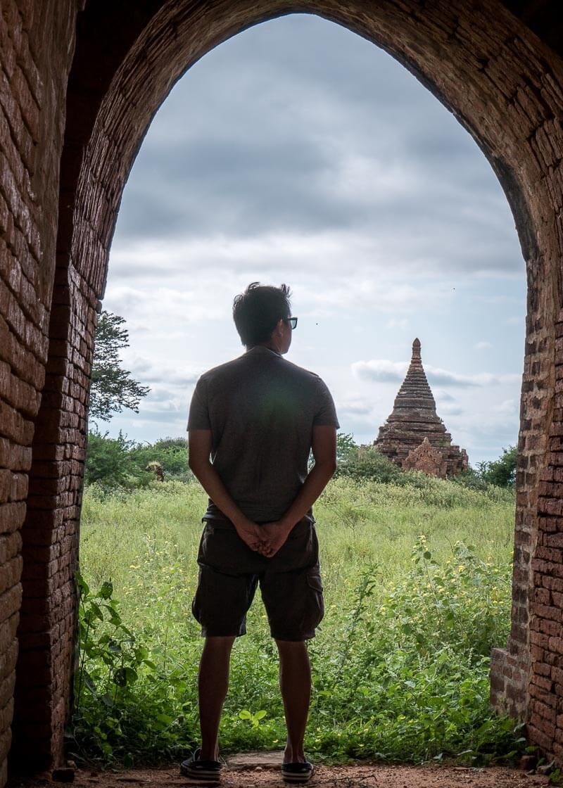 Bagan trip blog - temple hopping all day