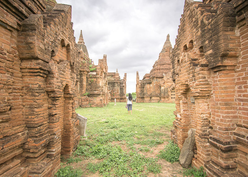 Bagan trip blog - found secret temple