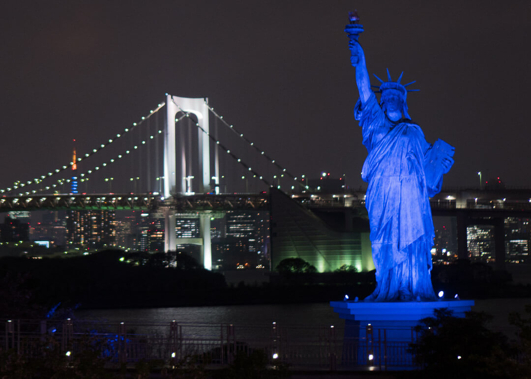Things to do in odaiba tokyo - statue of liberty