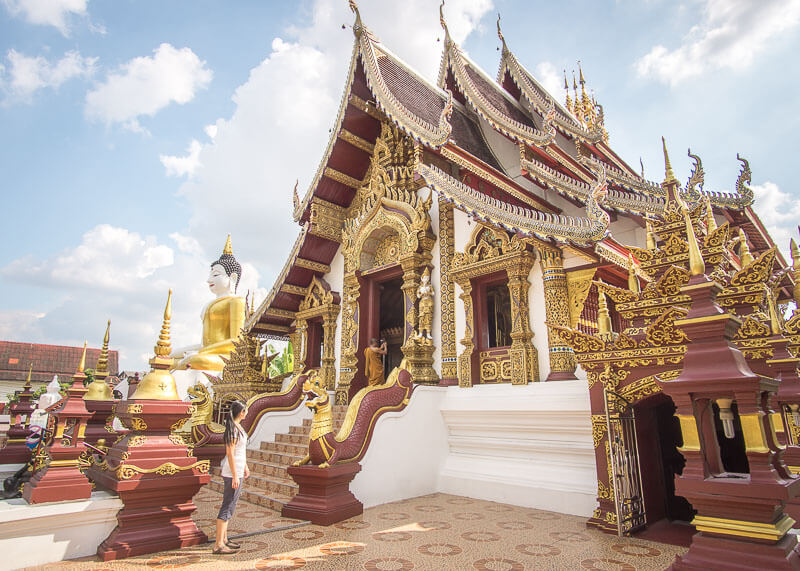 chiang mai travel blog - thai temple