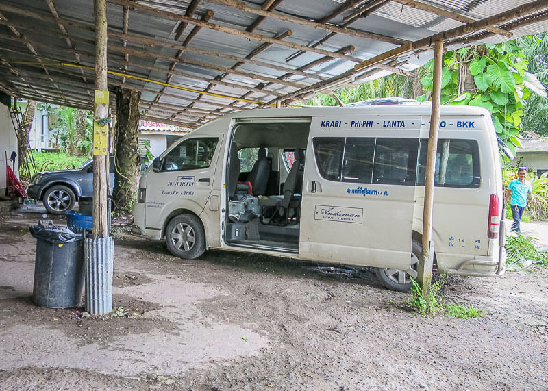Why Bus From Krabi To Surat Thani Is The Best Option - bus station ao nang krabi