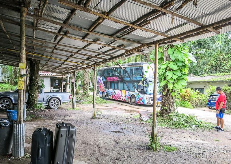 Why Bus From Krabi To Surat Thani Is The Best Option - bus terminal double decker bus
