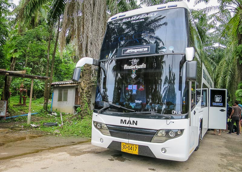 Why Bus From Krabi To Surat Thani Is The Best Option - double decker bus ao nang krabi