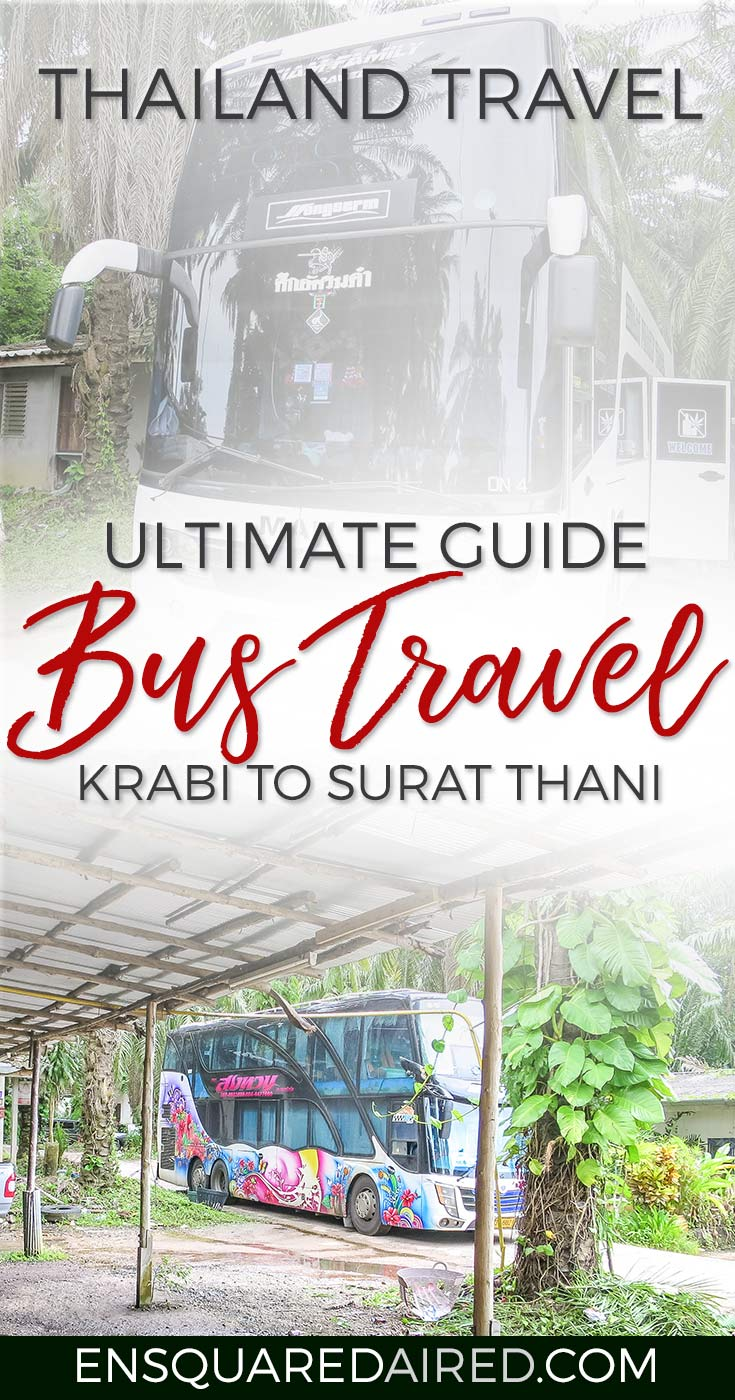 Why Bus From Krabi To Surat Thani Is The Best Option - pin