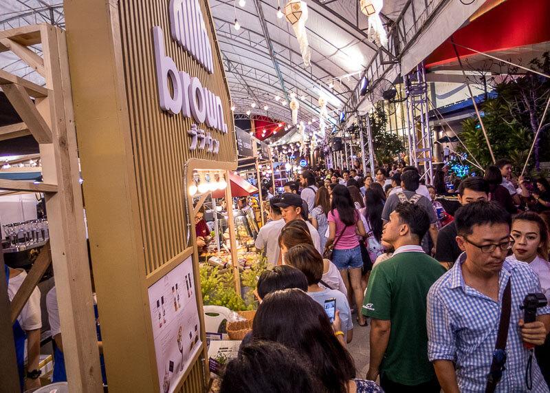 chiang mai trip blog - food festival