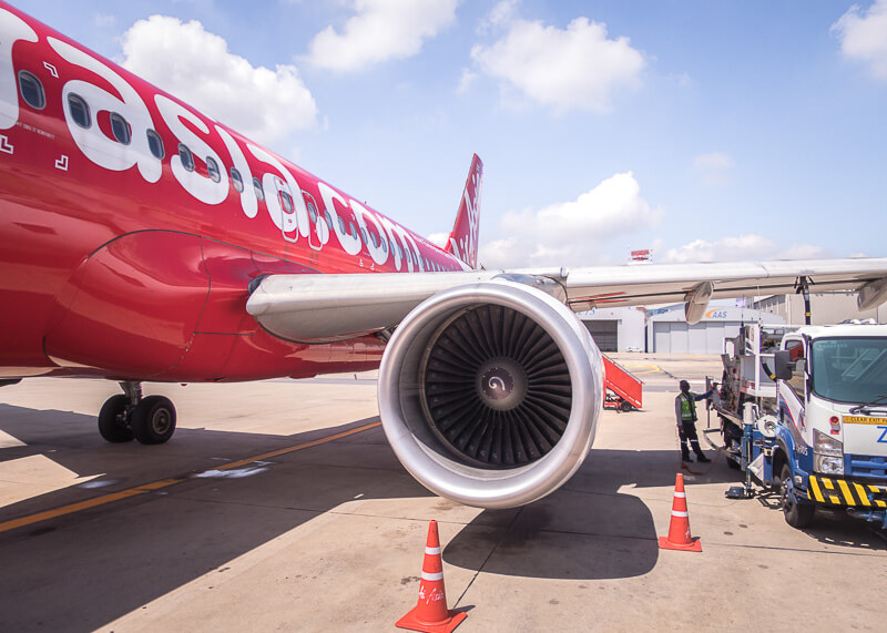 Mandalay travel blog - airport air asia