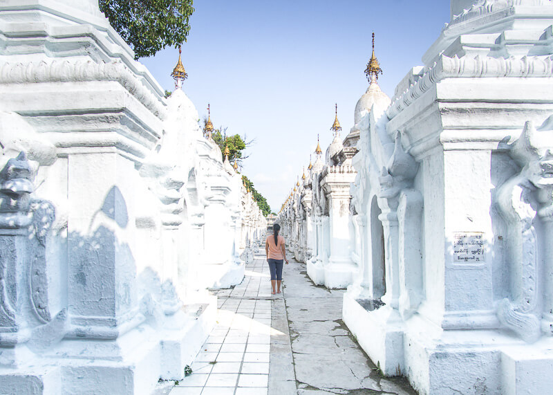 Mandalay travel blog - Kuthodaw Pagoda largest book