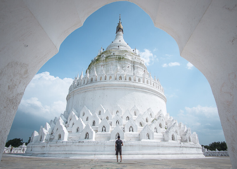 Mandalay travel blog - Hsinbyume Pagoda