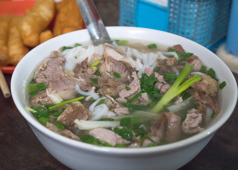 Hanoi travel blog - delicious pho bowl