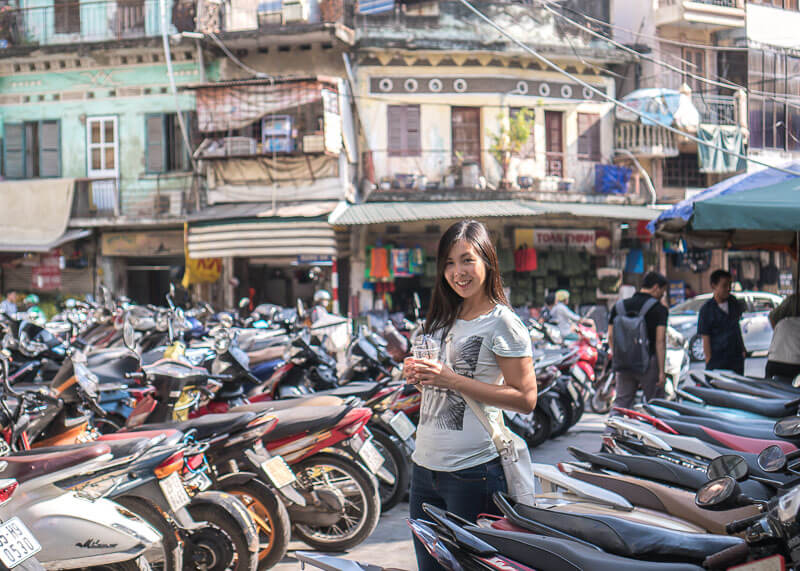 Hanoi travel blog - bikes everywhere