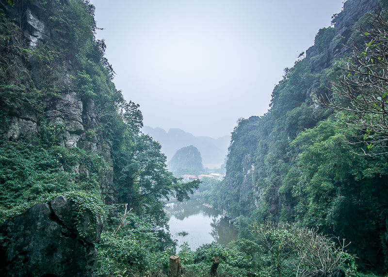 ninh binh travel blog - bich dong caves views