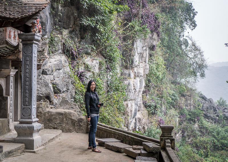 ninh binh travel blog - bich dong caves