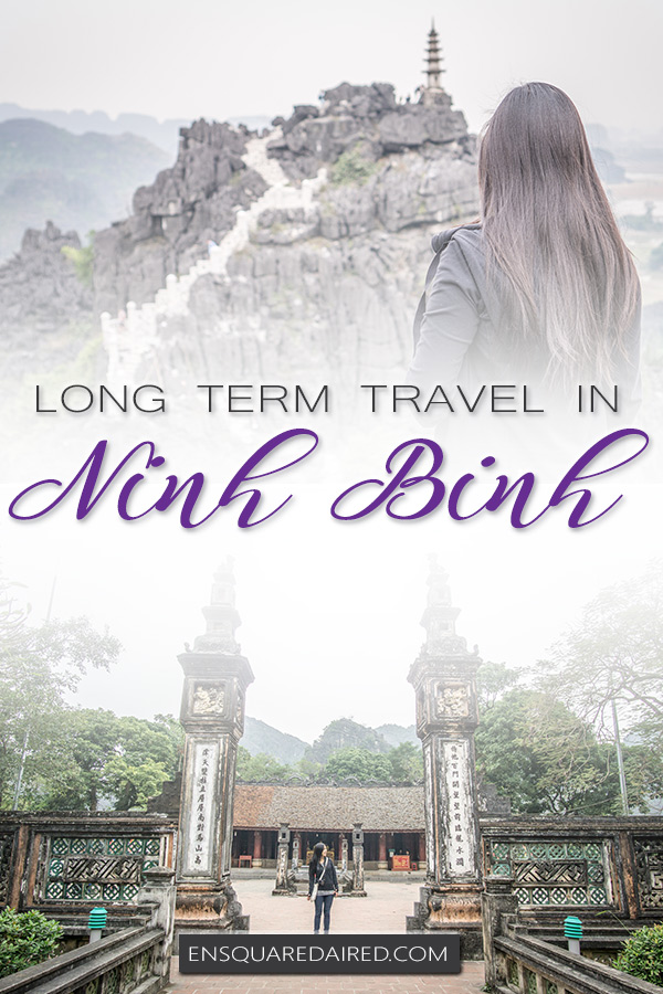 ninh binh travel blog - pin