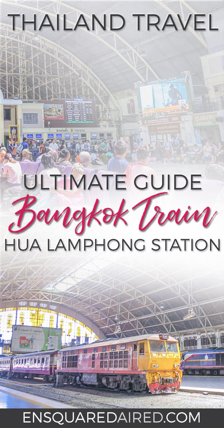this is what the bangkok train station looks like pinterest aka hua lamphong train station