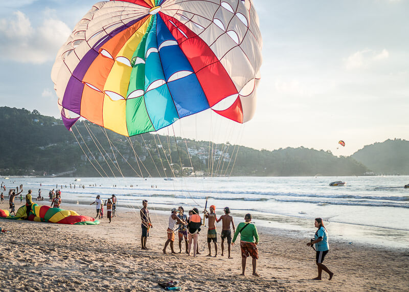12 Interesting things you didn't know about Patong beach in Phuket | This post talks about things you didn't know about Patong beach in Phuket and a bit about what to expect at Patong beach. There's also some great photography in Phuket, and ideas on what to include in your itinerary for your Phuket travels. #travel #destinations #thailand #beachtravel #phuket #slowtravel #wanderlust #romantictravel #thailandtravel | Beach travel | Romantic travel | Thailand travel | Honeymoon