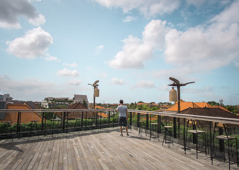 four points by Sheraton bali kuta rooftop views