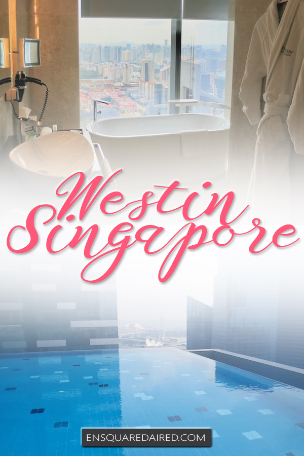 Westin Singapore review - pin